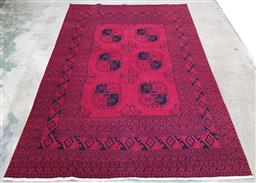 Sale 9210 - Lot 1079 - Afghan hand knotted pure wool Kundus (285 x 197cm)