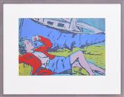 Sale 8271A - Lot 12 - David Bromley (1960 - ) - The Daydreamer 36 x 54.5cm
