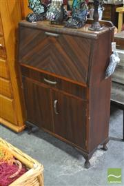 Sale 8404 - Lot 1084 - Art Deco Drop Front Bureau