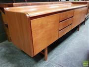 Sale 8493 - Lot 1007 - White and Newton Teak Sideboard