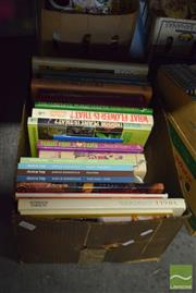 Sale 8497 - Lot 2395 - Box of Books on Cooking & Gardening