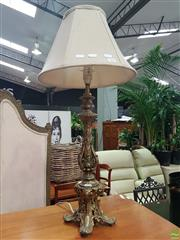Sale 8601 - Lot 1098 - Brass Table Lamp