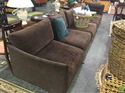 Sale 8620 - Lot 1018 - King Furniture Jasper Lounge with Pouf