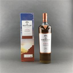Sale 9120W - Lot 1476 - The Macallan Distillers 'Aurora' Highland Single Malt Scotch Whisky - Taiwanese Travel Exclusive, 40% ABV, 1000ml in box