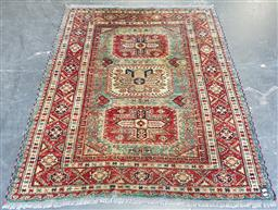 Sale 9174 - Lot 1129A - Persian multi-coloured carpet with 3 central medallions (175x145cm)
