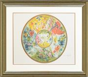 Sale 8282A - Lot 35 - Marc Chagall (1887 - 1985) - Paris Opera House Ceiling 59cm