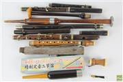 Sale 8551 - Lot 13 - A collection of flute parts and chanters