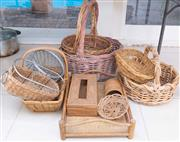 Sale 8550H - Lot 188 - A quantity of basket wares, various shapes and sizes