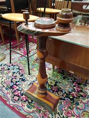 Sale 8566 - Lot 1149 - Mulga Wood Smokers Stand