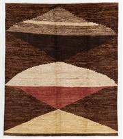 Sale 8770C - Lot 61 - An Afghan Chobi (Striped) Naturally Dyed In Hand Spun Wool, Very Suitable To Australian Interiors 288 x 249cm