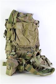 Sale 8952M - Lot 659 - Australian Camouflage Backpack And Webbing