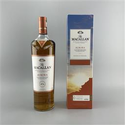 Sale 9120W - Lot 1477 - The Macallan Distillers 'Aurora' Highland Single Malt Scotch Whisky - Taiwanese Travel Exclusive, 40% ABV, 1000ml in box