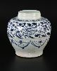 Sale 3803 - Lot 797 - A MING STYLE GINGER JAR