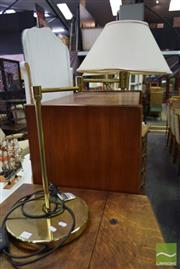 Sale 8532 - Lot 1298 - Pair of Articulated Brass lamps