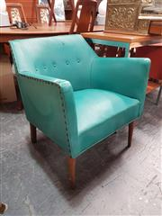 Sale 8872 - Lot 1030 - Vintage Vinyl Tub Chair