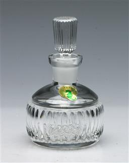 Sale 9164 - Lot 537 - Waterford Crystal Perfume Bottle (H: 12cm)