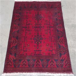 Sale 9210 - Lot 1058 - Afghan hand knotted pure wool Khal Mohammadi (150 x 100cm)