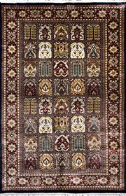 Sale 8307A - Lot 20 - Indian Silk Inlaid 150cm x 230cm RRP $2000