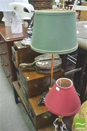 Sale 8338 - Lot 1460 - Collection of 3 Table Lamps