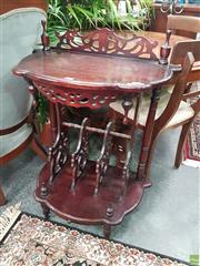 Sale 8601 - Lot 1033 - Carved Timber hall Stand