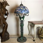 Sale 8795K - Lot 65 - A large bronze standard lamp