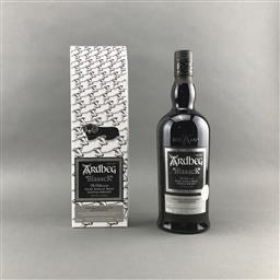 Sale 9120W - Lot 1449 - Ardbeg Distillery 'Blaaack' Limited Release Islay Single Malt Scotch Whisky - Committee 20th Anniversary Limited Edition, 46% ABV, 7.