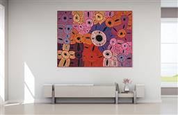 Sale 9128A - Lot 5018 - Glenys Gibson Nungurrayi (1968 - ) - Womens Ceremony 151 x 201 cm (stretched and ready to hang)