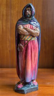 Sale 8313A - Lot 94 - A Royal Doulton figure, The Moor, H N 1657, height 47cm