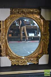 Sale 8418 - Lot 1090 - Small Gilt Framed Mirror AF