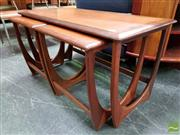 Sale 8493 - Lot 1017 - G-Plan Nest of Teak Tables