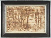 Sale 8779 - Lot 2002 - John Cartwright - Kalamunda Autumn 29.5 x 44cm