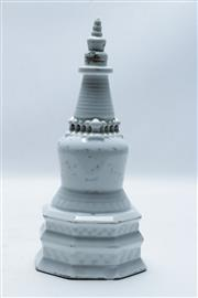Sale 8869 - Lot 86 - A Chinese Ceramic Ornament (H 28cm)
