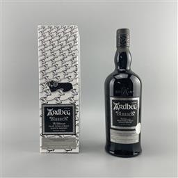Sale 9165 - Lot 650 - Ardbeg Distillery Blaaack Limited Release Islay Single Malt Scotch Whisky - Committee 20th Anniversary 2020 Limited Edition, 46% A...