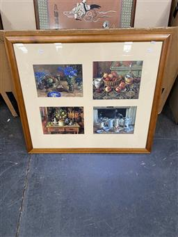 Sale 9176 - Lot 2138 - Set of (4) Decorative Still Life Prints by Margaret Olley -