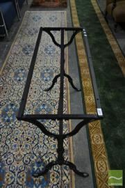Sale 8507 - Lot 1081 - Wrought Iron Table Base for Rectangle Top