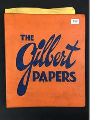 Sale 8539M - Lot 188 - The Gilbert Papers by Blair L. Gilbert, revised edition 1973. Micky Hades publication in accompanying orange ring-binder folder