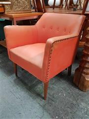 Sale 8872 - Lot 1033 - Vintage Vinyl Tub Chair