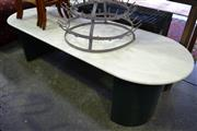 Sale 8115 - Lot 1266 - Marble Top Occasional Table