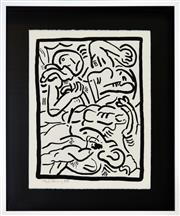 Sale 8349 - Lot 571 - Keith Haring (1958 - 1990) - Bad Boys, 1986 (I) 65 x 50cm