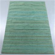 Sale 8438K - Lot 111 - Turquoise Fine Jute Rug | 300x200cm, Hand Woven Polished Jute Composition, Premium Charcoal Felt Backing, Handwoven by skilled artis...