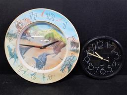 Sale 9254 - Lot 2277 - Dinosaur childrens clock and another