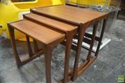 Sale 8326 - Lot 1045 - G-Plan Teak Nest of Tables