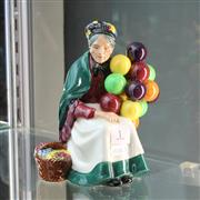 Sale 8351 - Lot 1 - Royal Doulton Figure The Balloon Seller