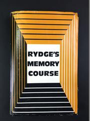 Sale 8539M - Lot 190 - Rydges Memory Course, books 1-6 in set, good condition