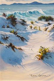 Sale 8583A - Lot 5001 - Robyn Collier (1949 - ) - Seashore View 29 x 19cm