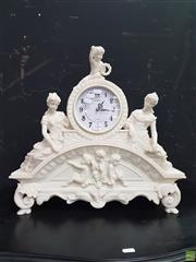 Sale 8601 - Lot 1009 - Moulded Mantle Clock