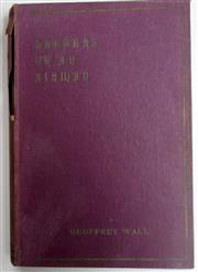 Sale 8639 - Lot 25 - Letters of an Airman, by the Late Geoffrey Wall Royal Flying Corps, published by Australasian Authors' Agency, damage to spine.