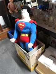 Sale 8797 - Lot 2479 - Large Superman Soft Toy, new with tag, and Board Games plus Stationery