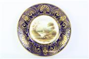 Sale 8810 - Lot 81 - A Regency Possibly Dartmoor Plate