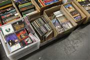 Sale 8169 - Lot 2234 - 4 Boxes of CDs